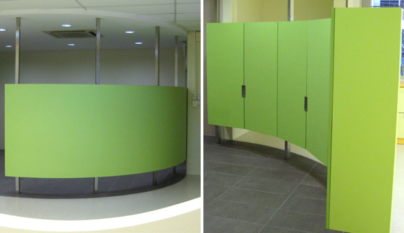 Trans Student Care - Cabinet Partition