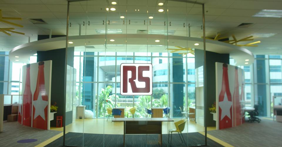 RS Components Pte Ltd - Signage Logo