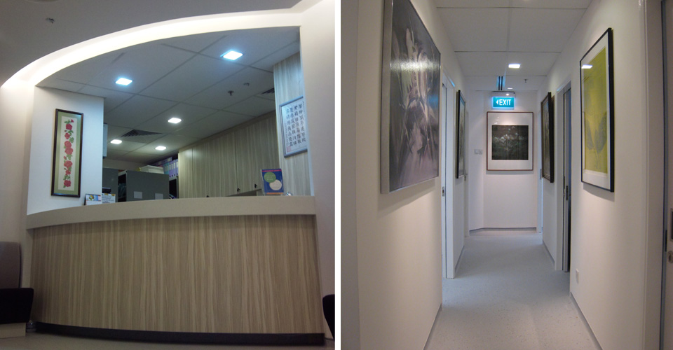 Singapore Oncology Centre, Mt. Elizabeth - Reception & Corridor